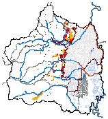 Mapa 4. Suelos de protección por amenaza-riesgos y riesgos no mitigables