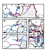 Mapa 5. Amenaza-riesgo por desbordamiento de afluentes del río cauca (Tr 50 años)