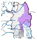 Mapa 9. Zona susceptibles a licuación y corrimiento lateral por sismos