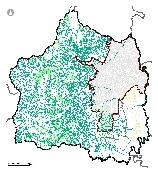 Mapa 18. Recurso hídrico superficial y sus áreas forestales protectoras