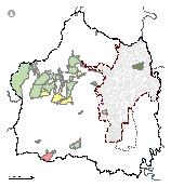 Mapa 19. Áreas de conservación por iniciativas privadas y públicas