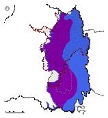 Mapa 22. Zonas de recarga y descarga del acuífero