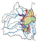 Mapa 25. Subsistema de abastecimiento de agua potable