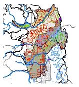 Mapa 26. Subsistema de recolección, transporte y tratamiento de aguas residuales