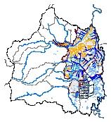 Mapa 27. Subsistema de drenaje pluvial y mitigación de inundaciones