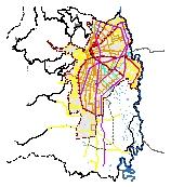 Mapa 32. Sistema integrado de transporte masivo