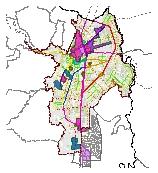 Mapa 40. Centralidades y corredores de actividad