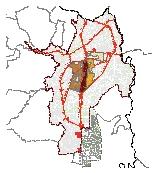 Mapa 41. Áreas con soporte urbano para redensificación