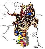 Mapa 42. Áreas de actividad