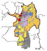 Mapa 43. Tratamientos urbanísticos