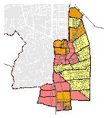 Mapa 44. Predelimitación de planes parciales en el área de expansión urbana corredor Cali - Jamundí