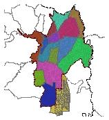 Mapa 47. Unidades de planificación urbana