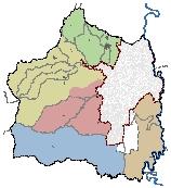 Mapa 50. Unidades de planificación rural