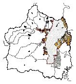 Mapa 53. Áreas de evaluación para proceso de mejoramiento integral