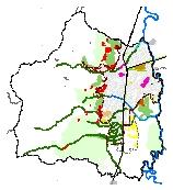 Mapa 54. Proyectos estratégicos del plan de ejecución